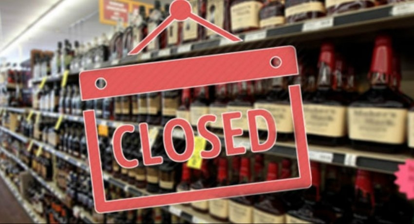 Bars closed on the 16th and 17th