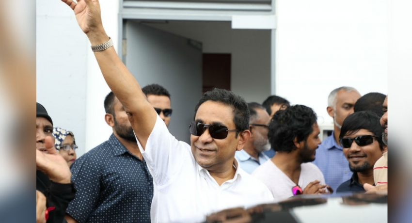 Former Maldivian president Abdullah Yameen sentenced for 5 years in prison