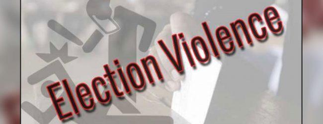Election violence in Anamaduwa hospitalizes one