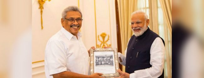 President Gotabaya Rajapaksa's India tour comes to an end