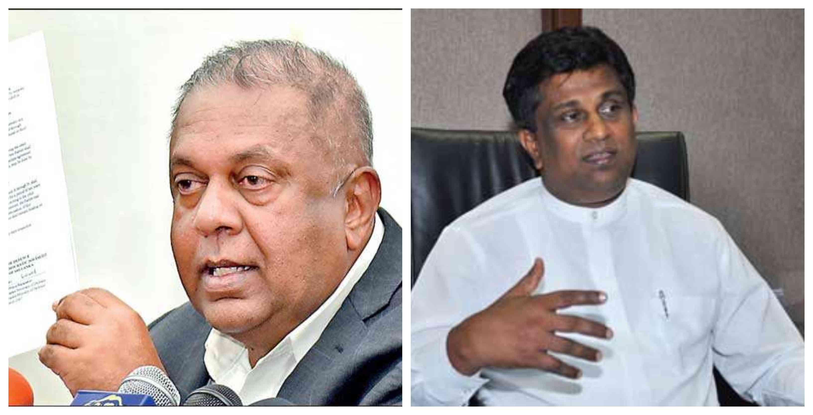 Mangala and Ajith P. Perera resign from respective portfolios