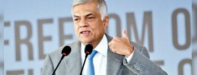 Prime Minister extends congratulations to Gotabaya Rajapaksa