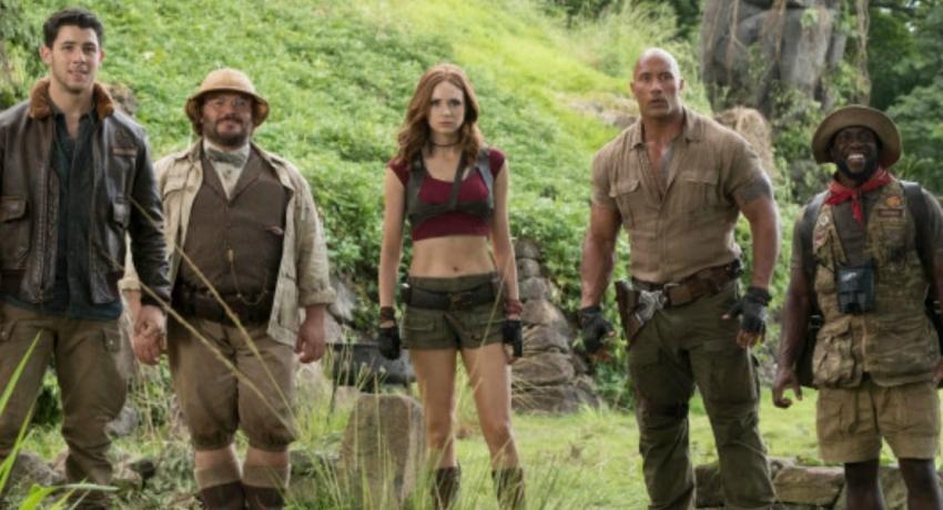Jumanji cast face their fears in latest sequel