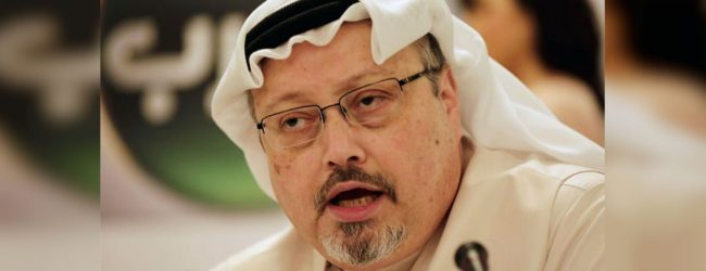 Saudi sentences five to death, three to jail over Khashoggi killing