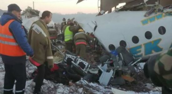 Passenger plane crashes in Kazakhstan killing at least seven
