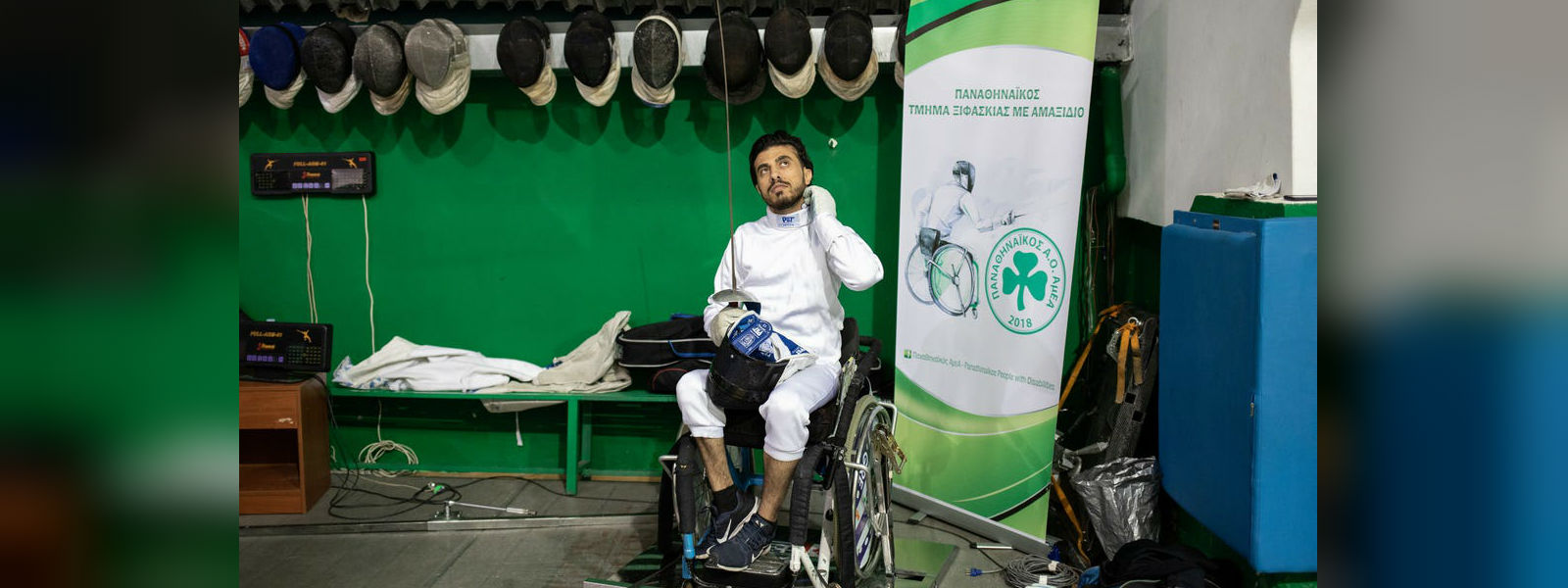 Iraqi refugee in Greece sets sights on Paralympics