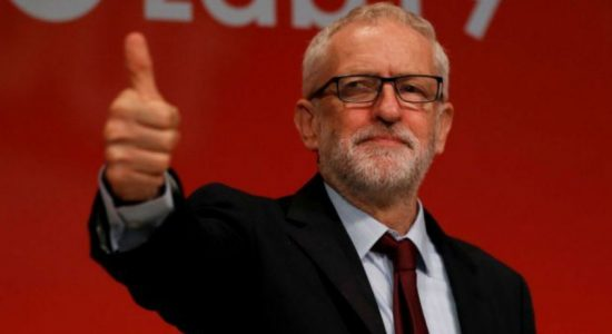 Corbyn steps down from Labour leadership after election defeat