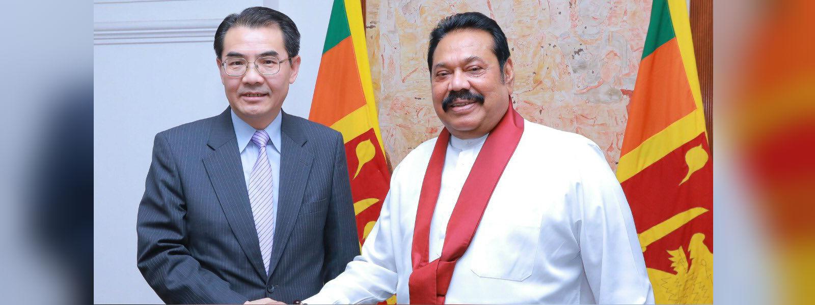 Three ambassadors call on PM at Temple Trees