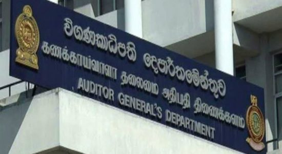 Auditor General reveals number of irregularities in funds allocated to disaster management