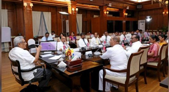 President chairs meeting with officials of Ministry of Power and Energy