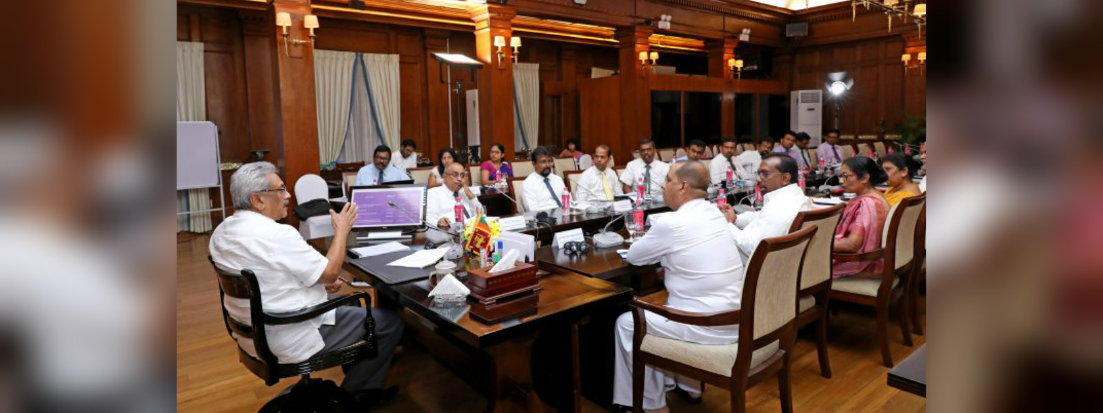 Second interim report on 4/21 attack handed over to President