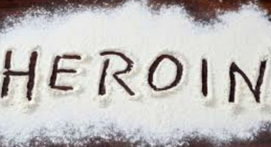 Eight arrested with heroin