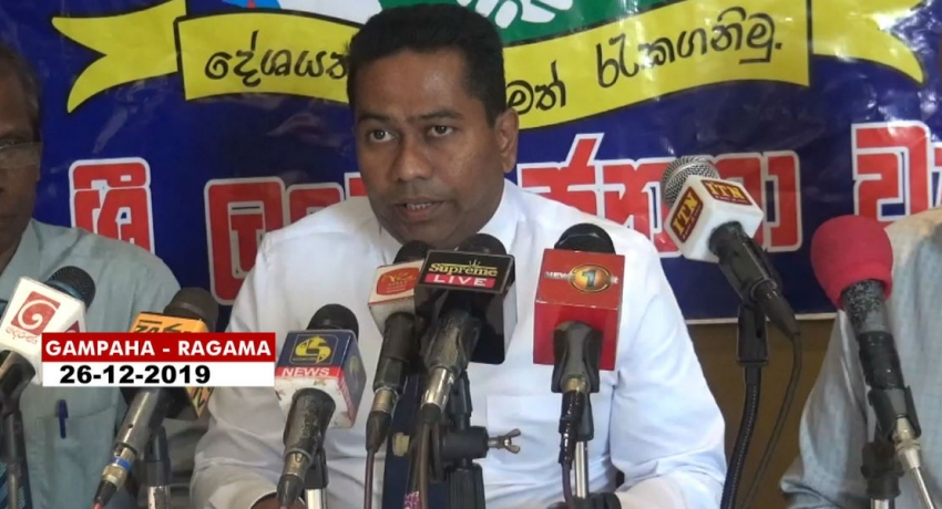 Politicians need to detach themselves from the religious figures-Lalith Gunewardena