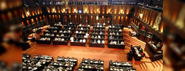 Parliament informs NEC of vacant seat