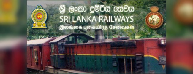 Upcountry railway track to be restored by tonight