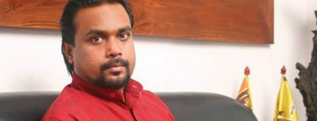 """We will not remain in a government that signs the MCC"" – Min. Weerawansa"