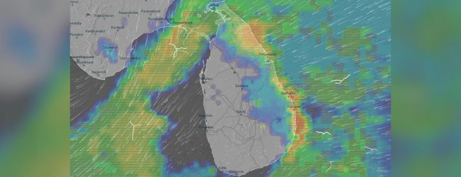 Showery conditions expected to worsen over 3 provinces