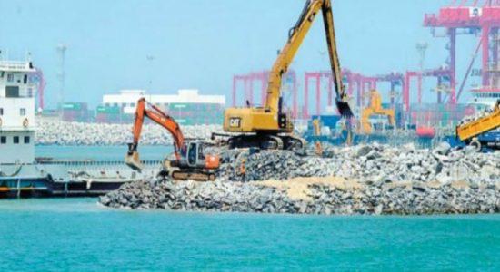 Port City celebrates adding 269 hectares of land to geography of Sri Lanka