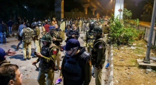 Police appeal for peace post violent clashes over India's citizenship act