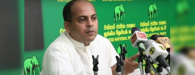 Akila Viraj's claim that Ranil Wickremesinghe is the party leader is his personal opinion-SM Marikkar