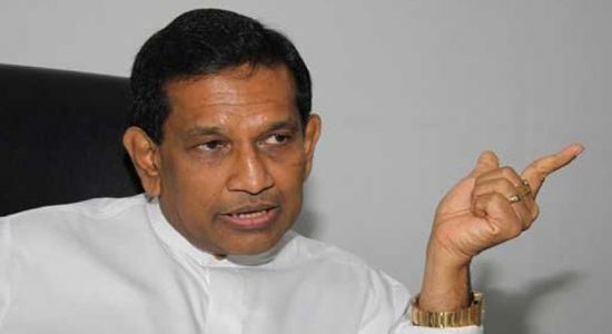 Rajitha Senaratne's transfer to Prison hospital halted