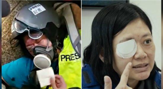 Hong Kong-based Indonesian journalist seeks justice after losing right eye
