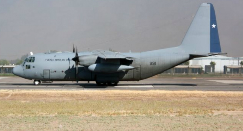 Chilean military plane en route to Antarctica disappears with 38 on board
