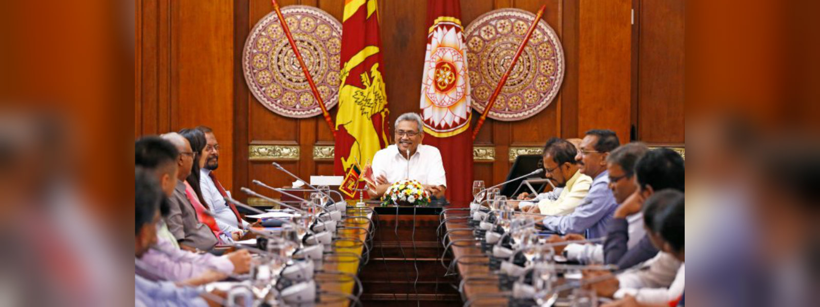 Government will not renegotiate the Hambantota Port agreement with China : President