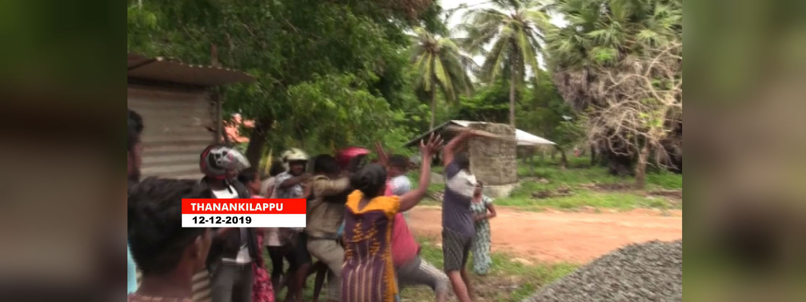 Tense situation as residents oppose the construction of a Wind Power Plant in Jaffna