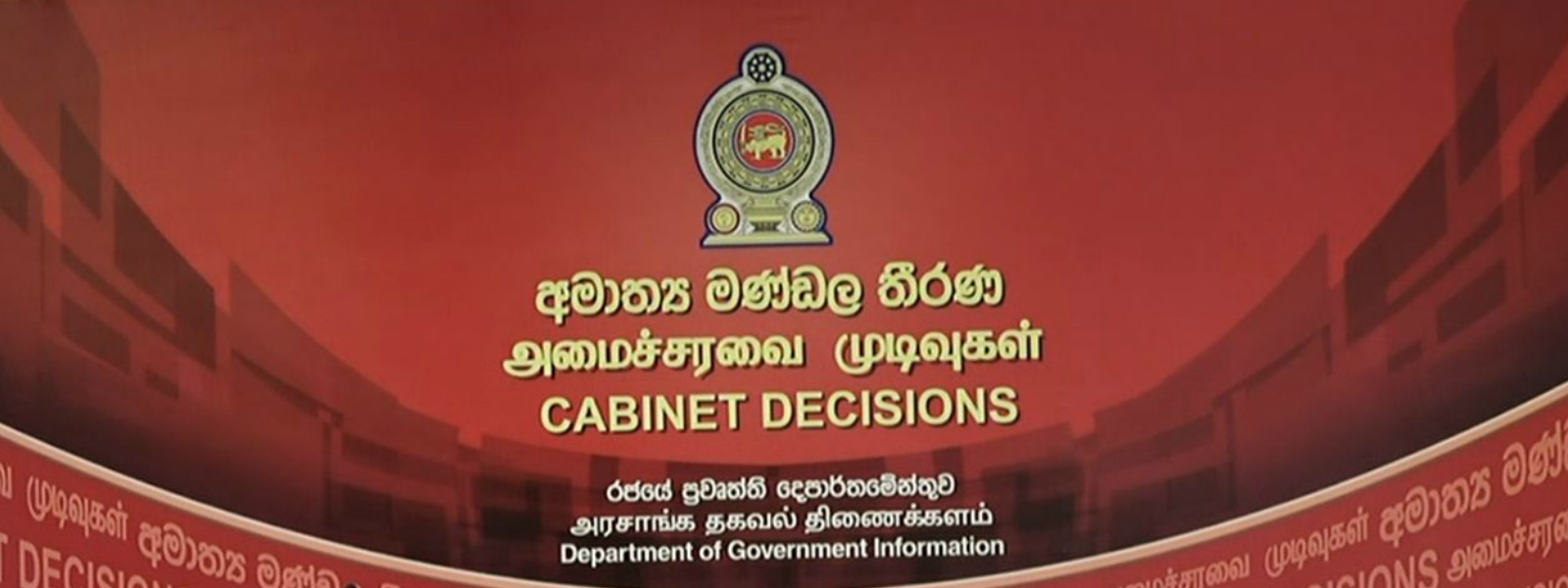 Cabinet approves drafting new State Intelligence Act