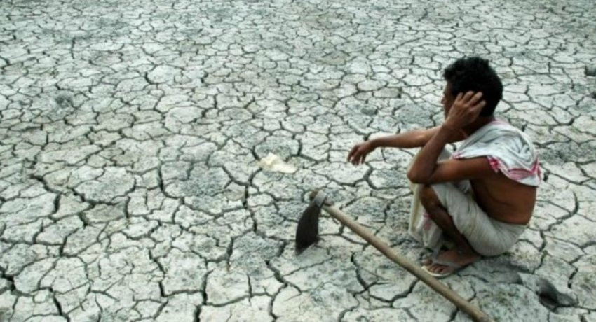 18 000 acres of paddy fields abandoned due to lack of water supply