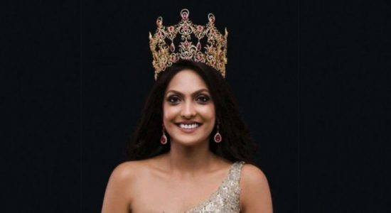 Mrs World 2020 Caroline Jurie returns home