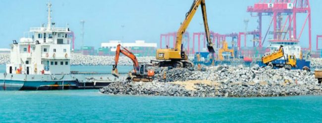 Prime Minister Mahinda Rajapaksa promises to accelerate Port City Project :  Xinhua News Agency
