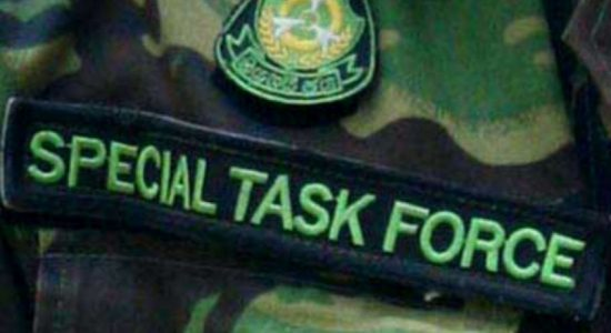 Three arrested with firearms in STF raid
