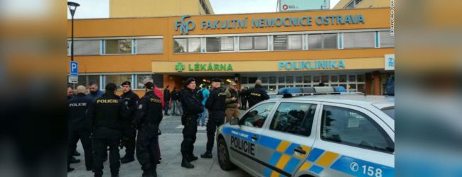 Czech hospital gunman died after trying to kill himself – interior minister