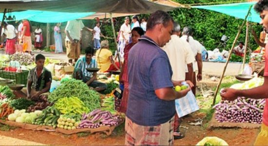 A hike in vegetable prices
