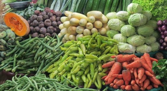 Vegetable prices have risen due to inclement weather
