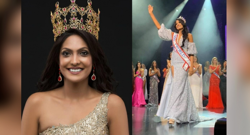 Mrs. World returns to Sri Lanka