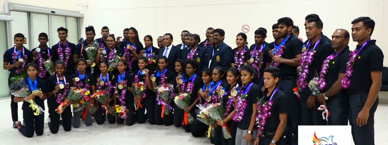 Sri Lanka defeats India in athletics SAG 2019
