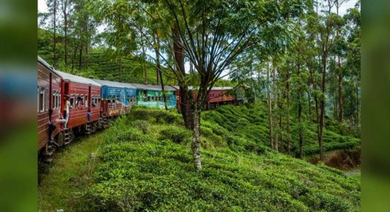 Train travel along the up-country rail route delayed