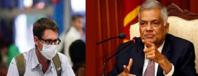 Ranil's suggestions to PM Rajapaksa on Coronavirus