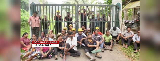 Miners hunger strike intensifies ; Protest now staged 1800 feet underground