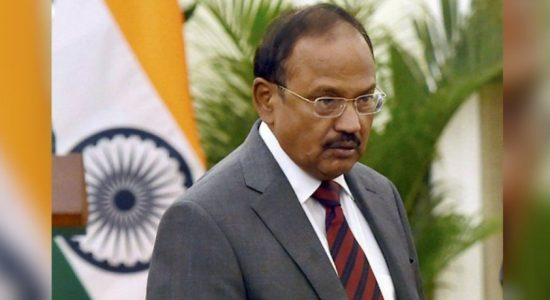 Indian Security Advisor, Ajit Doval meets President