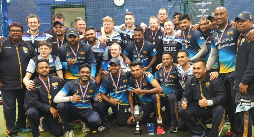 Sri Lankan indoor cricket team wins historic first overseas series in England