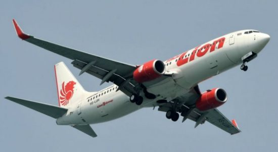 Lion Air passenger diagnosed with Influenza