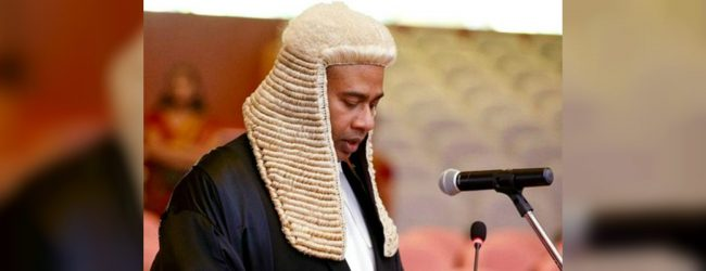 Pres recommends Yasantha Kodagoda to be appointed as a Supreme Court Judge