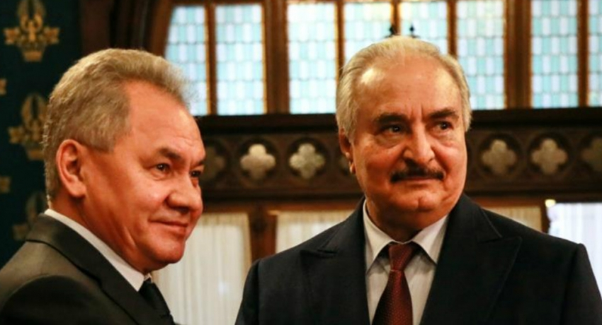 Libya's Haftar leaves Moscow without signing ceasefire agreement