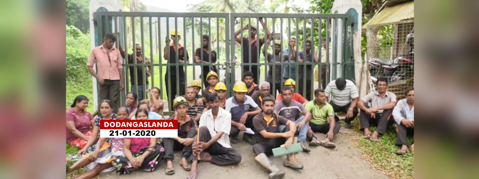 Miners carry on underground hunger strike