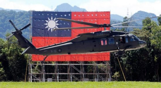 Taiwan's military chief of staff, 7 others killed after helicopter crash