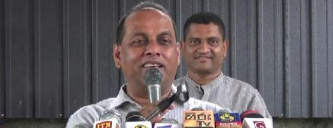 We are happy we could assist President secure his office : Mahinda Amaraweera